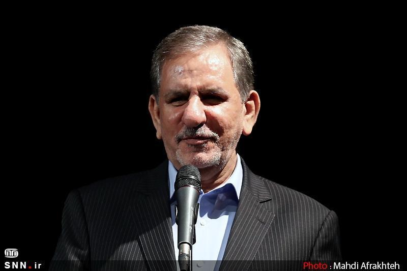 جهانگیری در نجف: قدردان مردم، مراجع تقلید و دولت عراق هستیم