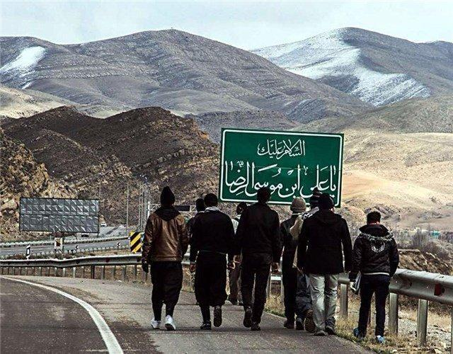 کاروان زائران پیاده به مشهدالرضا (ع) مشرف شدند؛ عبور تعداد زائران از مرز 200 هزار نفر