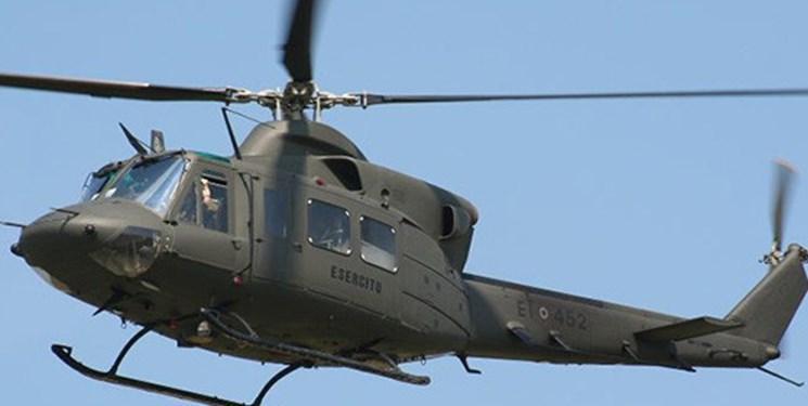 سقوط بالگرد نظامی در کلمبیا 6 کشته برجا گذاشت
