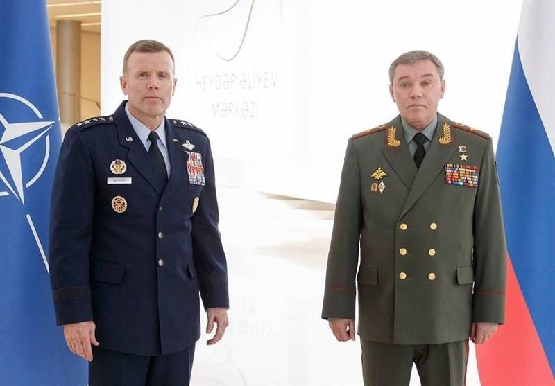 ملاقات مقامات بلندپایه نظامی روسیه و ناتو در باکو