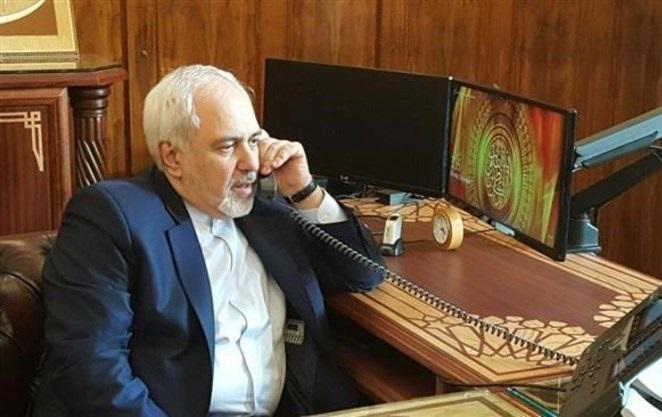 گفتگوی تلفنی ظریف و وزیر امور خارجه ژاپن