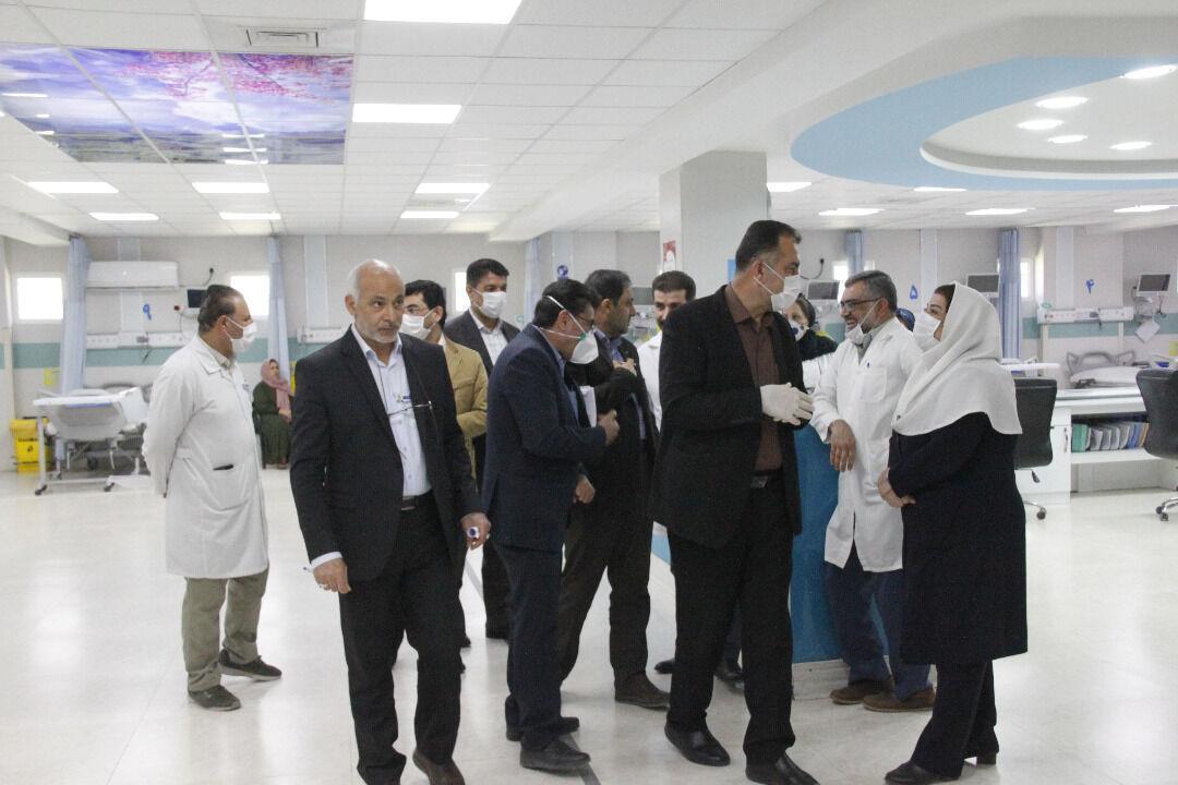 خبرنگاران بیمه شدگان تامین اجتماعی در خوزستان به سامانه غربالگری کرونا مراجعه نمایند